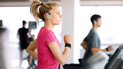 Tomtom Spark monitorizando la actividad de la cinta de correr