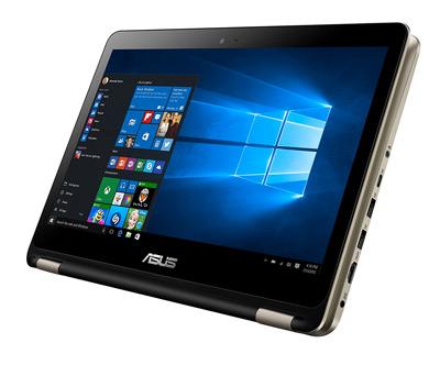 Convertible Asus TP301UA plegado en modo tablet