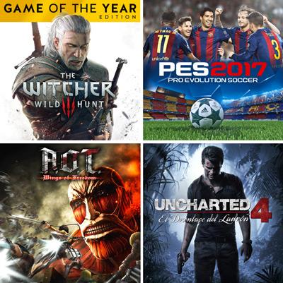 Ofertas de la Play Store en videojuegos para PS4