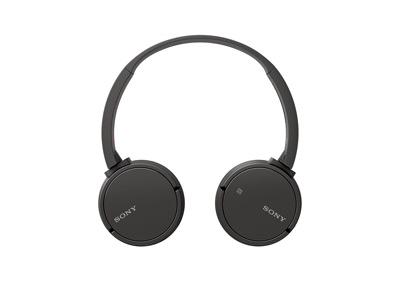 Los auriculares Sony MDR-ZX220BT se pueden plegar para transportarlos de manera segura