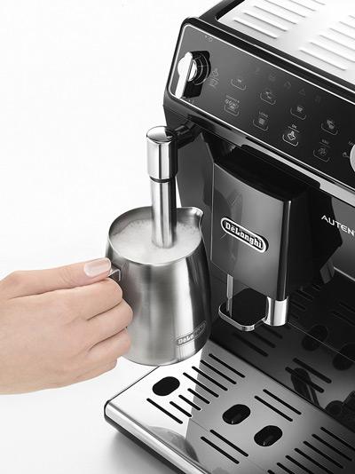 La cafetera DeLonghi Autentica dispone de vaporizador