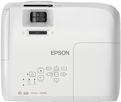 Vista superior del proyector Epson EH-TW5210