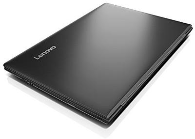 Vista cerrada del portátil Lenovo Ideapad 310