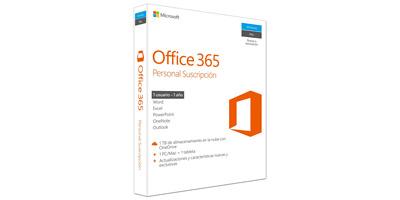Licencia de 1 año de la suit Office 365 personal