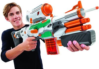 Nerf Tri-Strike montada