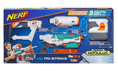 Vista general de la Nerf Tri-Strike