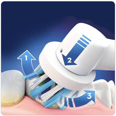 Limpieza 3D del cepillo de dientes eléctrico Oral-B SmartSeries 4000 CrossAction
