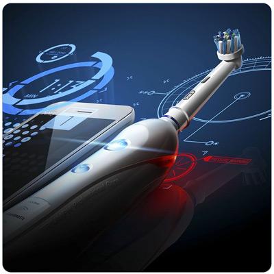 Tecnología Bluetooth del cepillo de dientes eléctrico Orel-B SmartSeries 4000 CrossAction