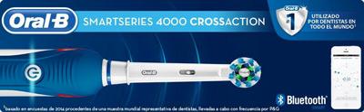 Vista general del cepillo Oral-B SmartSeries 4000 CrossAction