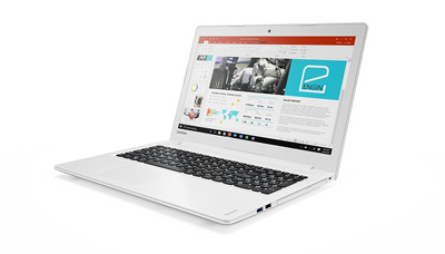 Vista general del portátil Lenovo Ideapad 510 con Office 365.