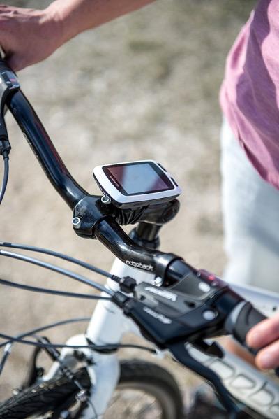 El Garmin Edge Touring Plus es compatible con muchos soportes