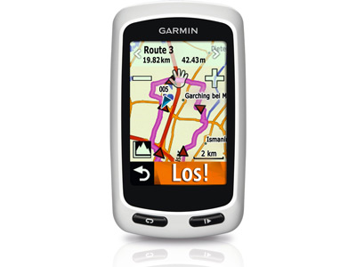 Calcula las rutas con tu Garmin Edge Touring Plus