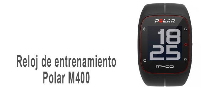 Reloj de entrenamiento Polar M400 con GPS