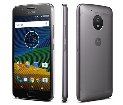 Vista general del SmartPhone Moto G5