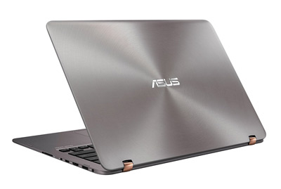 Vista posterior del portátil ASUS UX360UAK