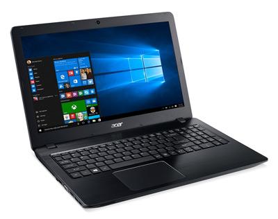 Vista general del portátil Acer F5