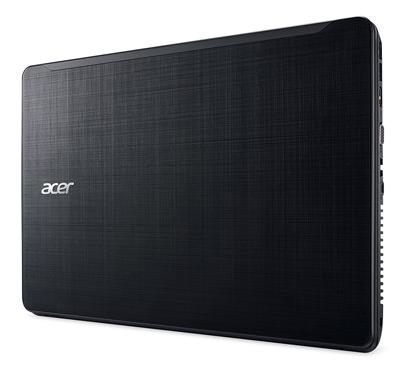 Vista superior del portátil Acer F5