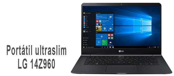 Portátil UltraSlim LG 14Z960