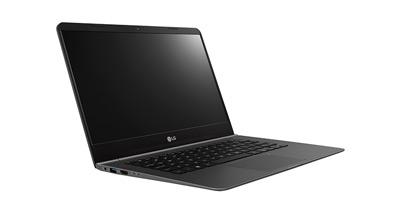 Vista lateral del portátil Ultra Slim LG 14Z960