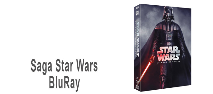 Saga StarWars en BluRay