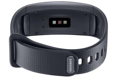 Sensor cardiaco de la Samsung Gear Fit 2