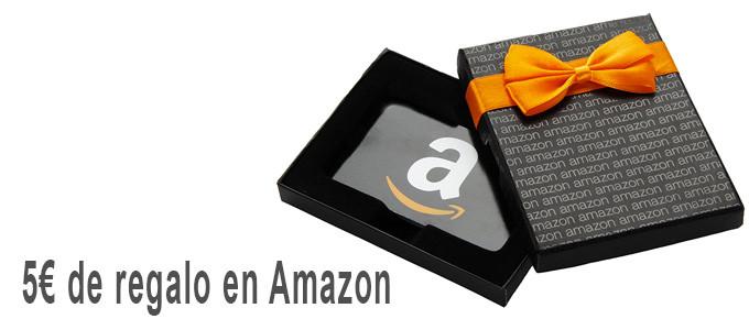 5€ de regalo en Amazon