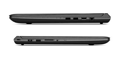 Detalle de los laterales del portátil Lenovo Ideapad 700-15ISK