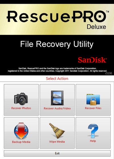 Software RecuePro Deluxe al comprar la tarjeta SanDisk Extreme PRO SDXC de 128GB