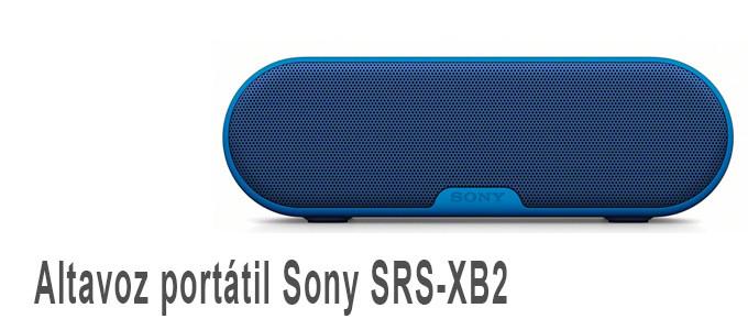 Altavoz portátil Sony SRS-XB2