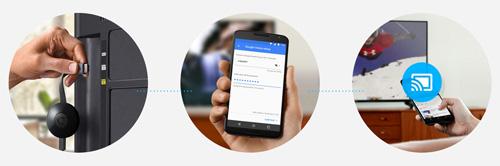 Envío de contenido a Chromecast 2 usando oferta de Chromecast 2 más 3 meses de Wuaki.tv