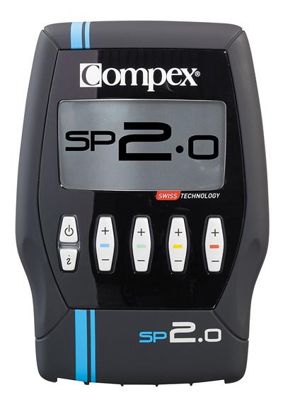 Vista general del Electroestimulador Compex SP 2.0.