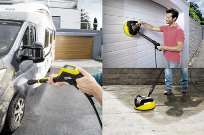 Limpia todo con la hirolimpiadora Kärcher K5 Premium Full Control Home Wood