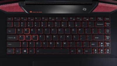 Detalle teclado portátil Lenovo Ideapad Y700