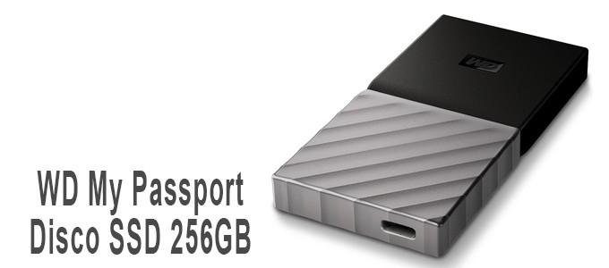 Disco WD My Passport SSD de 256GB