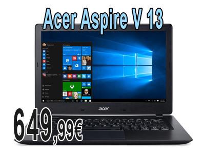 Portátil Acer Aspire V 13