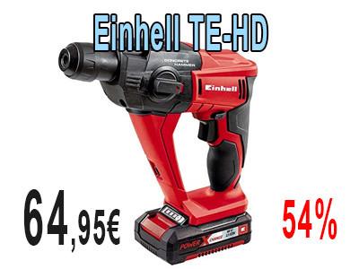 Taladro percutor Einhell TE HD