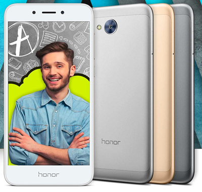 Vista general del SmartPhone Honor 6A
