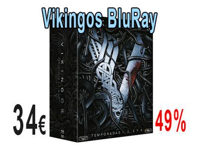 Serie Vikingos temporada 1 - 4