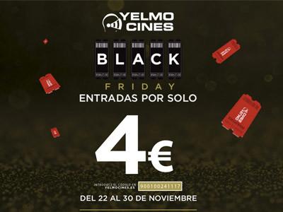 Entradas para los cines Yelmo por solo 4€
