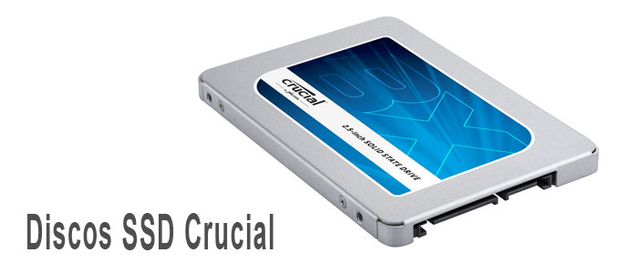 Discos SSD Crucial