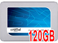 Discos SSD Crucial BX300 de 120GB