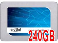 Discos SSD Crucial BX300 de 240GB