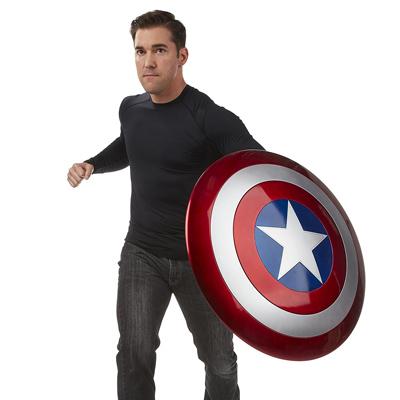Vista general del Escudo del Capitán América