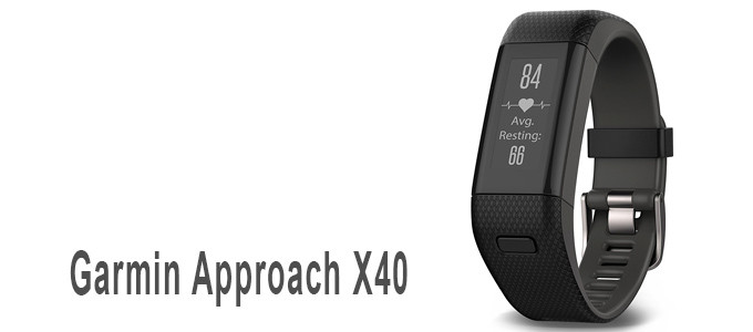 Pulsera GPS Garmin Approach X40 para Golf