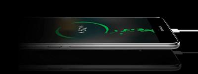 Móvil Huawei P10 lite con cargador rápido