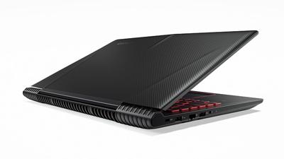 Vista trasera del portátil Lenovo Ideapad Y520
