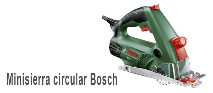 Minisierra circular Bosch PKS 16 Multi