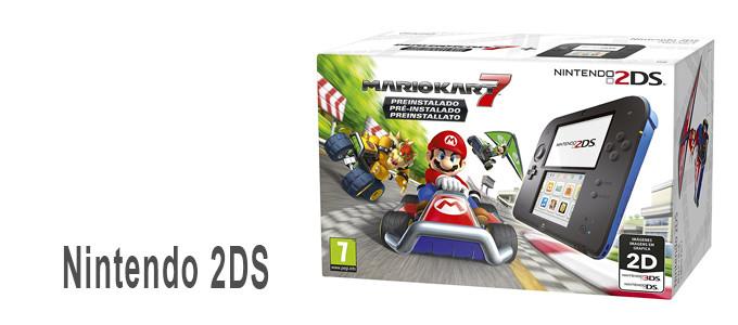 Consola Nintendo 2DS con juego