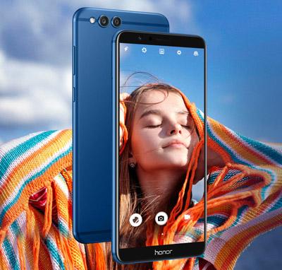 Apartado fotográfico del SmartPhone Honor 7X