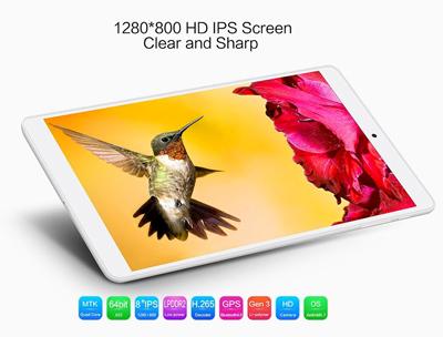 Vista general de la tablet Teclast P80H